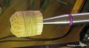 Wooden pressure equalizer for HF rise