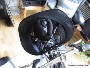 Microphones in bike basket