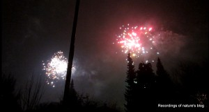 Fireworks, New year, Vanløse 2011-2012
