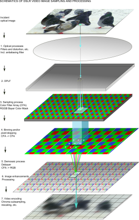 Image sampling model