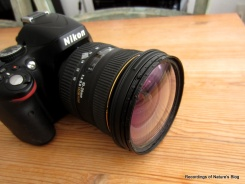 Variable anti-aliasing filter (CYL-filter) mounted on camera lens